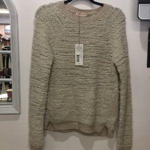 Rebecca taylor cream color size m sweater